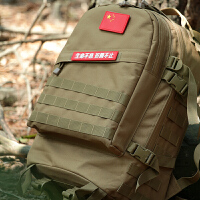 户外登山包战术双肩背包俄罗斯军迷用品迷彩包特种兵攻击包男女 三沙迷彩