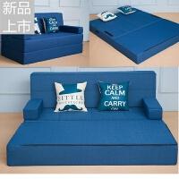 懒人沙发床榻榻米双人可拆洗午休躺椅折叠卧室客厅小沙发定制