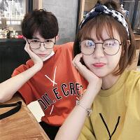 夏装情侣装短袖女T恤2018新款韩版学生宽松半袖原宿风