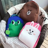 幼儿园儿童书包潜水面料 双肩背包儿童包包大班书包
