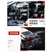 乐高积木保时捷911RSR汽车模型机械组布加迪威龙成人益智拼装玩具