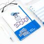广博A5线圈笔记本子学生记事记录本迪士尼唐老鸭款蓝色IQT11900