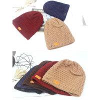 潮韩版百搭休闲保暖包头帽加厚情侣毛线帽帽子女羊毛针织帽