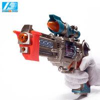 东发宇宙先锋 电动玩具枪 男孩儿童玩具枪声光手枪狙击枪机关枪