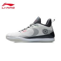 李宁篮球鞋男鞋韦德系列官方新款男士减震耐磨防滑中帮专业比赛鞋