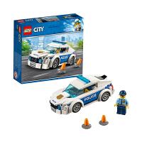 【当当自营】乐高(LEGO)积木 城市组City 玩具礼物 警察巡逻车60239