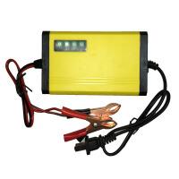 摩托车电瓶充电器12v通用型铅酸蓄电池踏板修复摩托车12伏充电器