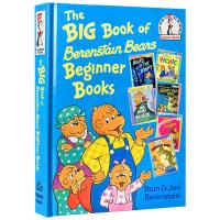 英文原版绘本 贝贝熊大书 6个故事合辑精装 The Big Book of Berenstain Bears Dr S
