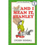 And I Mean It, Stanley 我是认真的,斯坦利(I Can Read,Level 1)ISBN9780064440462
