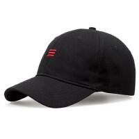 帽子男潮棒球帽男士鸭舌帽黑色街头潮人青年女帽加大码男帽