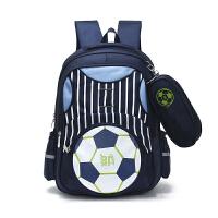 茉蒂菲莉 学生书包 儿童书包2-6年级小学生双肩背包男孩透气减负