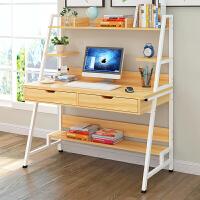 电脑桌台式宜家家居简易书桌书架写字桌子家用旗舰家具店