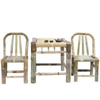 竹椅子靠背椅家用藤椅单人编织竹制藤编小椅阳台休闲椅老式竹凳子
