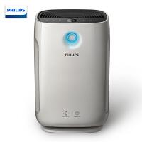 飞利浦(PHILIPS) 空气净化器家用商用去甲醛/过敏源/异味婴儿适用大空间 灰色 AC2878 有效面积41左右