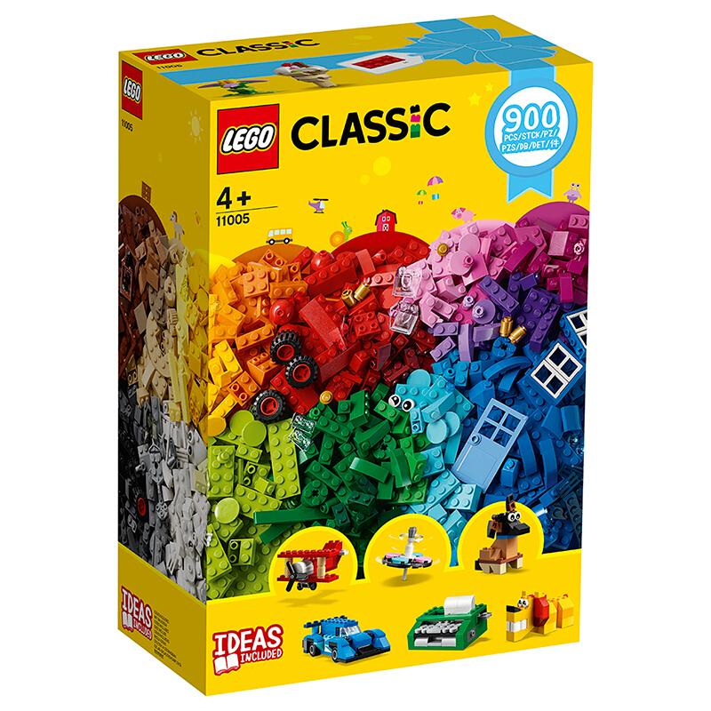 【当当自营】乐高(LEGO)积木 经典创意Classic 玩具礼物 创意拼搭趣味套装 11005 【实力宠粉 乐享好价】900块积木可拼搭多种造型!