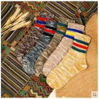 袜子男长袜中筒袜潮流韩版加厚纯棉袜男士防臭百搭保暖