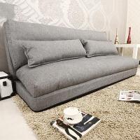 创意懒人沙发可折叠拆洗榻榻米单人双人沙发椅卧室舒服布艺沙发床