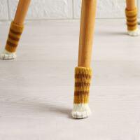 家具保护垫加厚防滑椅子脚垫脚套4个装卡通可爱猫咪桌椅脚垫