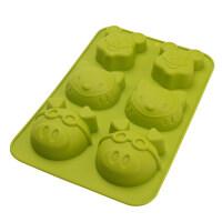 铂金硅胶蛋糕模具烤箱用烘焙工具戚风布丁烘培用具 s0m