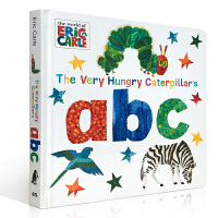 英文原版 The Very Hungry Caterpillar's ABC饥饿的毛毛虫的ABC1-3岁儿童 英语启蒙绘本