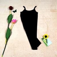 连衣裙吊带背心裙 女中长款修身包臀裙显瘦内搭衬裙 夏打底衫