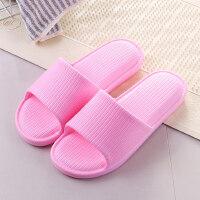 浴室软厚底情侣居家居拖鞋韩版男女夏季室内防滑洗澡凉拖鞋