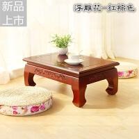 日式榻榻米茶几飘窗桌实木桌塌塌米地台小桌子小炕桌炕茶桌定制 整装