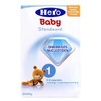 【当当海外购】荷兰本土HeroBaby美素 婴幼儿奶粉1段(0-6个月宝宝)800g 外观轻微破损或变形