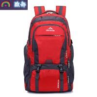 双肩包男旅行包运动休闲韩版青年户外登山大容量书包旅游男女背包 大
