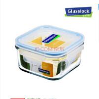 三光云彩GLASSLOCK钢化玻璃饭盒微波炉保鲜盒RP523 490ML