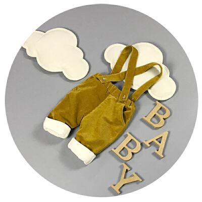 婴儿冬装裤子0-3-6个月9新生儿背带裤加绒加厚1岁儿童棉裤秋冬潮8 发货周期:一般在付款后2-90天左右发货,具体发货时间请以与客服协商的时间为准