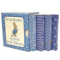 �F�正版 彼得兔我的小小�D���^ 英文原版�L本 Peter RabbitMy First Little Library ��