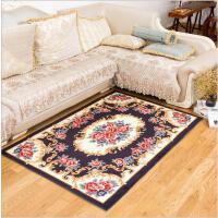 北欧客厅地毯欧式简约沙发茶几毯卧室短毛床边脚垫美式大地垫