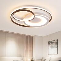 客厅LED吸顶灯现代简约圆形创意个性大气北欧主卧室书房餐厅灯具