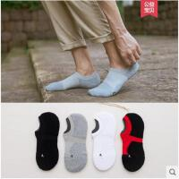 四季男士毛圈加厚短袜子浅口隐形袜纯色棉袜毛巾运动袜