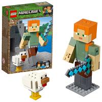 【当当自营】LEGO乐高积木我的世界Minecraft系列21149 7岁+主角人仔亚历克斯