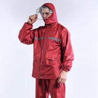 雨衣雨裤套装男士加厚防水全身摩托车电瓶车分体徒步骑行雨衣