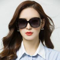 大框复古长脸眼镜网红同款墨镜女 新款太阳镜圆脸墨镜女潮驾驶遮阳镜