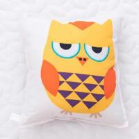 玩具猫头鹰公仔沙发靠垫抱枕玩偶儿童礼物结婚庆礼品