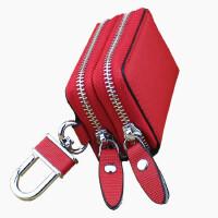 韩国可爱女士真皮汽车钥匙包个性迷你小包大容量腰挂钥匙扣锁匙袋