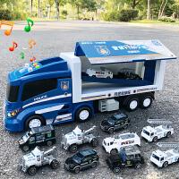 �和�玩具�模型汽�套�b�M合大卡�消防�警�男孩�����T性工程�