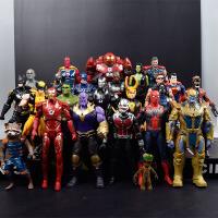 复仇者联盟3可动模型钢铁侠灭霸手办玩具美国队长人偶公仔礼物