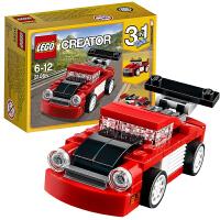 当当自营 LEGO乐高红色小跑车31055创意Creator系列积木玩具