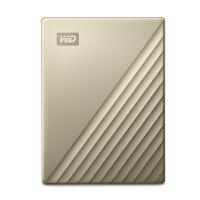 WD西部数据 My Passport Ultra 精英版 2T/4T移动硬盘Type-C轻薄加密
