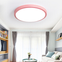 LED吸顶灯卧室灯现代简约男孩女孩儿童房间灯阳台客厅灯圆形灯具