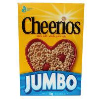 晶磨 美国进口通用磨坊Cheerios全谷物燕麦圈500g 早餐即食麦片燕麦片 原味麦片