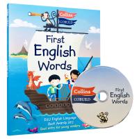 我的第一本英文词典 英文原版书 Collins First English Word 柯林斯儿童英语图解字典 少儿英语