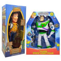 玩具总动员4发声弹翅膀巴斯光年胡迪警长抱抱龙翠丝可动人偶玩具总动员3
