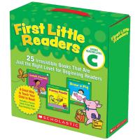 小读者系列学乐指导性阅读家长套装C级25册 英文原版儿童进口英语启蒙绘本 First Little Readers G