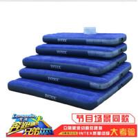 INTEX充气床单人双人特价充气床垫 加大加厚户外帐篷床 午休床 68950#76*191*22cm 标配